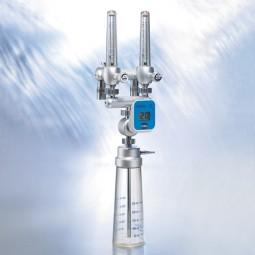 O2/Air Mischer mit Sensor und Sprudelbefeuchter