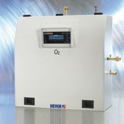 N2O Vollautomatische Druckmindererstation AGS 80 D (2 Netzdruckminderer; 3 Versorgungsquellen)