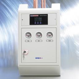 Ventil- & Kontrollstation für Aufputzmontage mit Monitor digital 4-fach