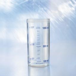 Ersatzsekretglas 1 l mit Gewinde