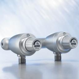 Druckluft Doppel-Stufen-Flowmeter Schiene